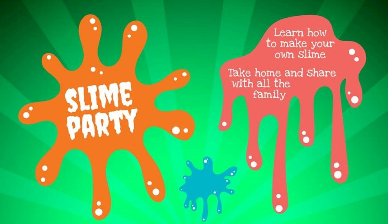 junior event slime party youngsters can make their own slime when