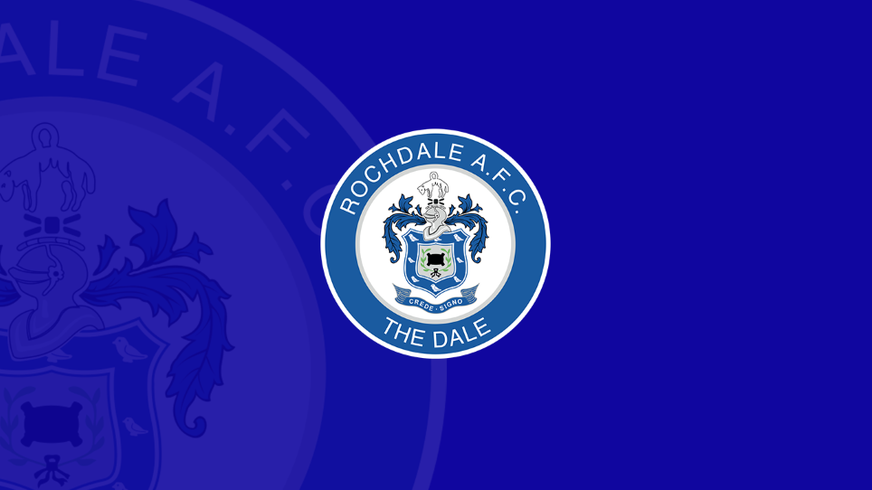 News Archive - Rochdale AFC